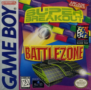 Battlezone/Super Breakout - GameBoy (Game Only)