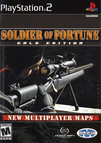 Soldier of Fortune - Playstation 2 (Complete In Box)