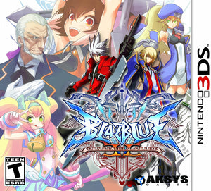 BlazBlue: Continuum Shift II - Nintendo 3DS (Complete in Box)