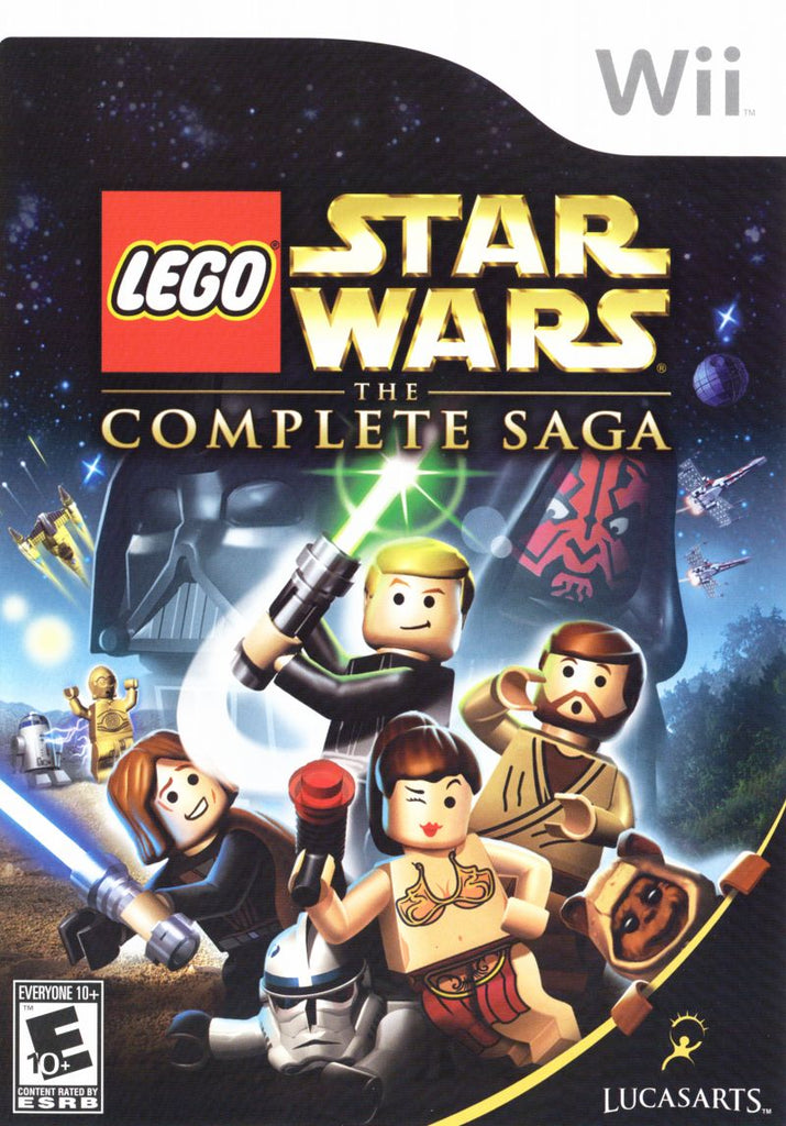 LEGO Star Wars Complete Saga - Wii (Complete In Box)