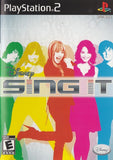 Disney Sing It - Playstation 2 (Complete In Box)