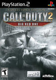 Call of Duty 2 Big Red One Collector's Edition - Playstation 2 (Complete In Box)