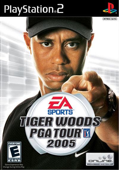 Tiger Woods 2005 - Playstation 2 (Complete in Box)