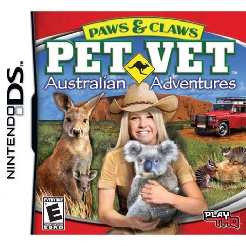 Paws & Claws Pet Vet: Australian Adventures - Nintendo DS (Game Only)