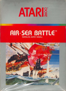 Air-Sea Battle - Atari 2600 (Game Only, Worn Label)