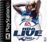 NBA Live 2001 - Playstation (Complete In Box)
