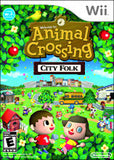 Animal Crossing City Folk - Wii (Complete In Box)