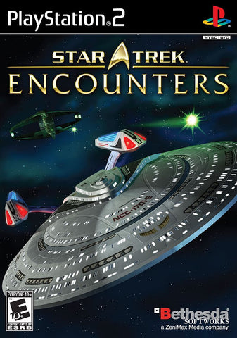 Star Trek Encounters - Playstation 2 (Complete In Box)