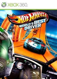 Hot Wheels: World's Best Driver - Xbox 360 (Complete In Box)