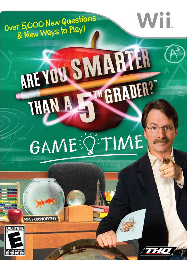 Are You Smarter Than A 5th Grader? Game Time - Wii (Complete in Box)