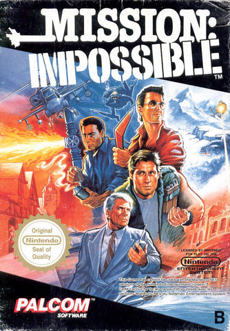 Mission Impossible - NES (Game Only)