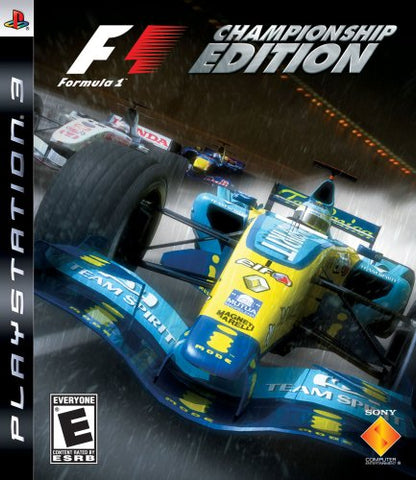 Formula One Championship Edition - Playstation 3