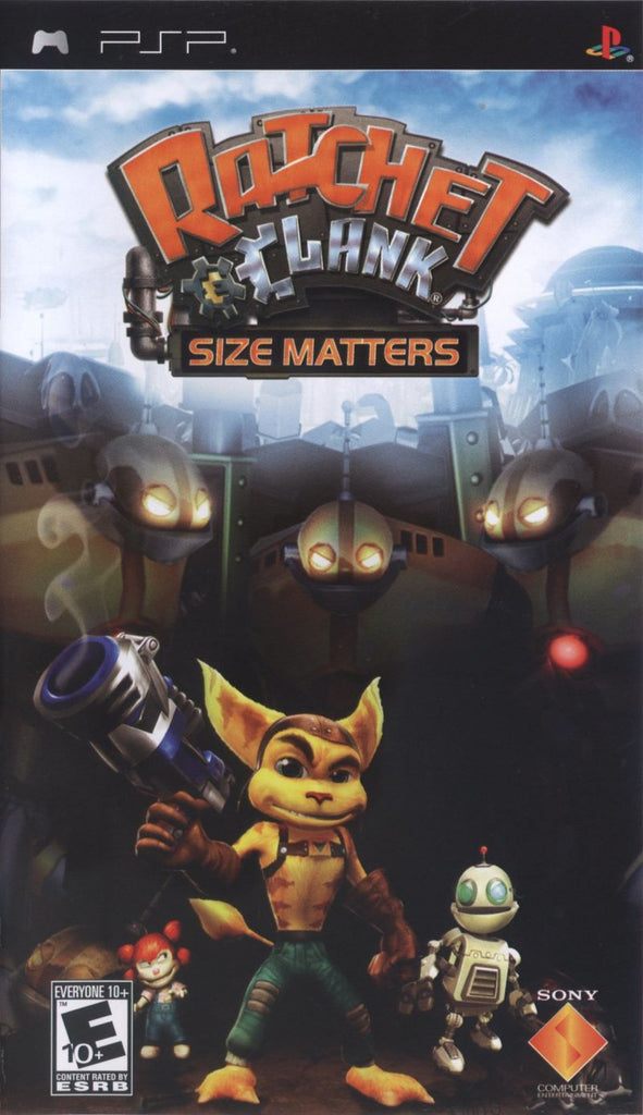 Ratchet and Clank Size Matters - PSP (Game Only)