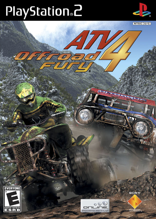ATV Offroad Fury 4 - Playstation 2 (Complete In Box)