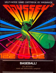 Baseball - Odyssey 2 (Complete in Box)