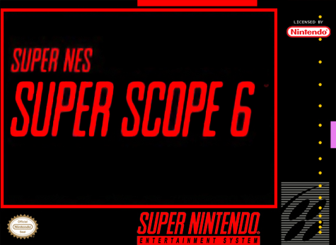 Super Scope 6 - Super Nintendo (Game Only)