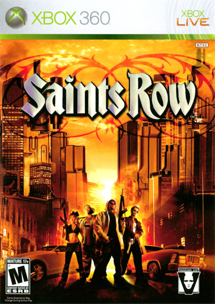 Saints Row - Xbox 360 (Game Only)