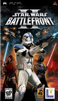Star Wars Battlefront II - PSP (Game Only, Worn Label)