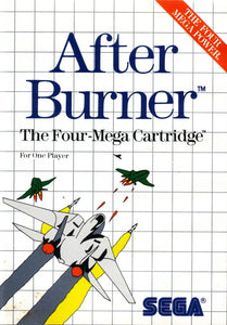 After Burner - Sega Master System  (Complete in Box)