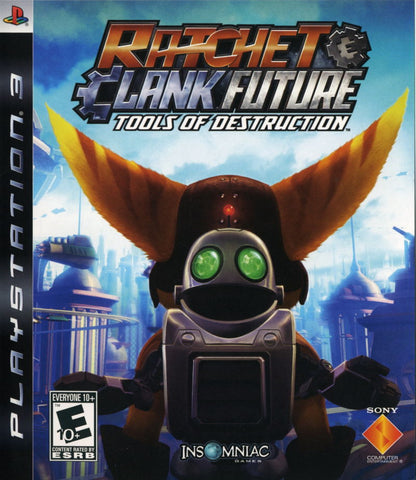 Ratchet and Clank Tools of Destruction - Playstation 3