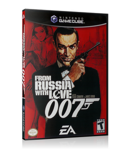 007 From Russia With Love - Gamecube (Complete in Box)