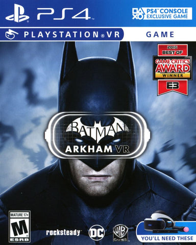 Batman: Arkham VR - Playstation 4 (Complete In Box)