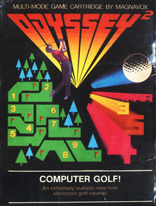 Computer Golf - Odyssey 2 (Complete in Box)
