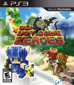 3D Dot Game Heroes - Playstation 3 (Complete in Box)