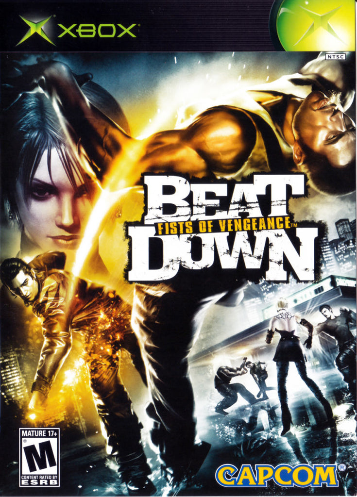 Beat Down Fists of Vengeance - Xbox (New)