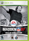 Madden 2007 Hall of Fame Edition - Xbox 360 (Complete In Box)