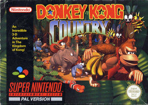 *BS* Donkey Kong Country - Super Nintendo (Game Only)
