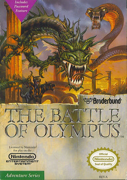 Battle of Olympus - NES (Game Only)