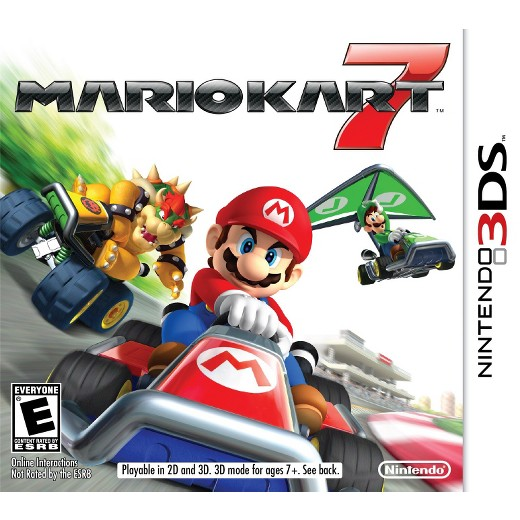 Mario Kart 7 - Nintendo 3DS (Complete In Box)