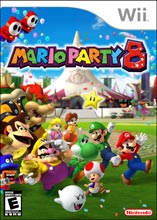 Mario Party 8 - Wii (Complete in Box)