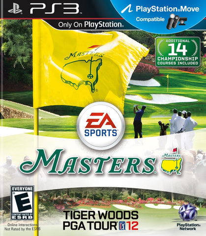 Tiger Woods PGA Tour 12: The Masters - Playstation 3 (Game Only)