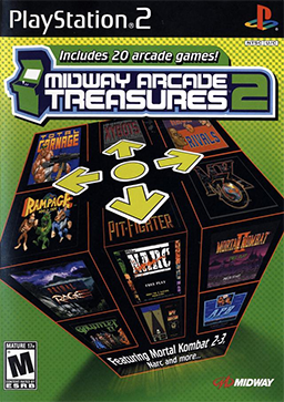 Midway Arcade Treasures 2 - Playstation 2 (Complete In Box)