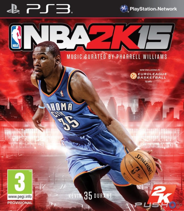 NBA 2K15 - Playstation 3 (Game Only)