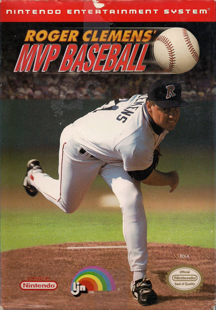 Roger Clemens' MVP Baseball - NES (Game Only)
