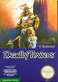 Deadly Towers - NES (Complete In Box)