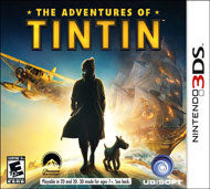 Adventures of Tintin: The Game - Nintendo 3DS (Complete In Box)