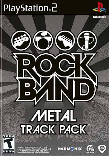 Rock Band Track Pack: Metal - Playstation 2 (Complete in Box)