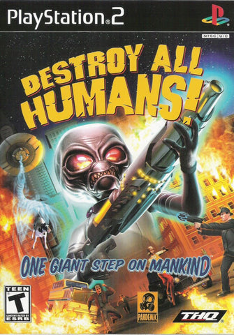 Destroy All Humans - Xbox