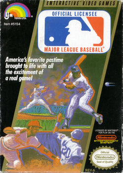 Major League Baseball - NES (Game Only)