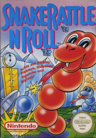 Snake Rattle n Roll - NES (Game Only)