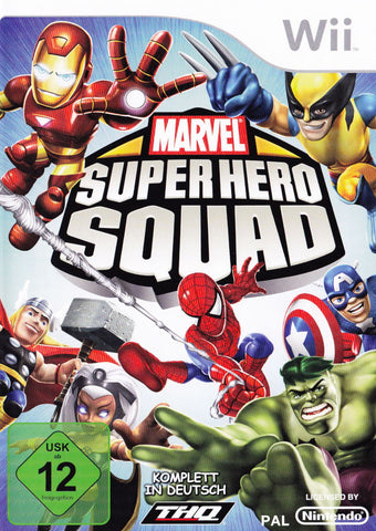 Marvel Super Hero Squad - Wii (Complete In Box - Used)