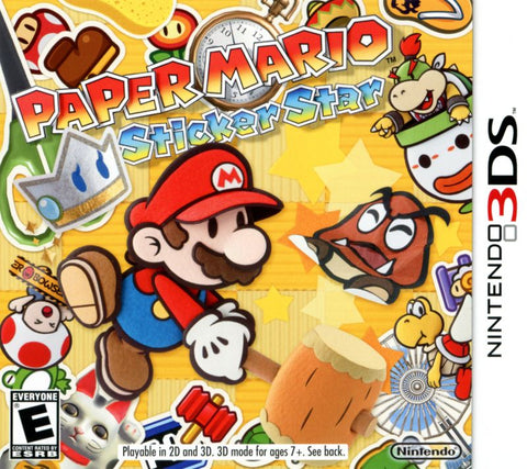 Paper Mario: Sticker Star - Nintendo 3DS (Game Only)