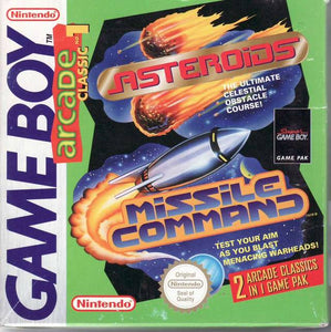 Arcade Classic: Asteroids and Missile Command - GameBoy (Game Only)