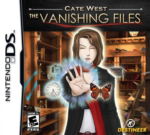Cate West: The Vanishing Files - Nintendo DS (Complete In Box)