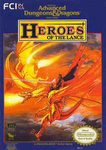 Advanced Dungeons & Dragons Heroes of the Lance - NES (Game Only)