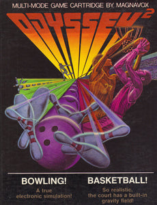 Bowling/Basketball - Odyssey 2 (Complete in Box)
